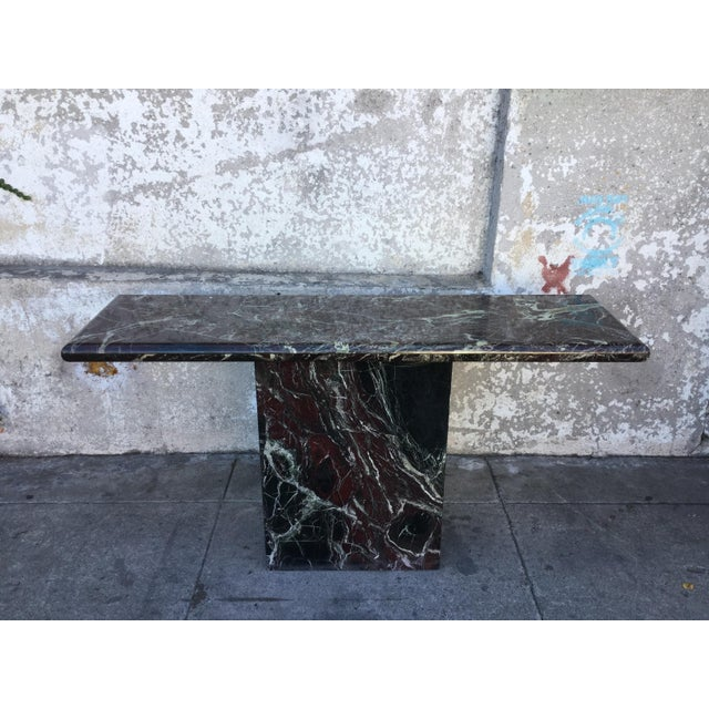Marble Entryway Console Table - Image 2 of 6