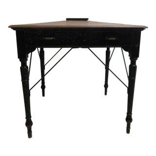Antique Victorian Primitive Slant Top Plantation Writing Desk
