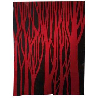 """Red Trees"" by Jan Yoors"