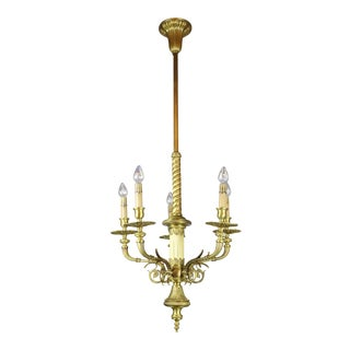 Pair of Quality Cast Victorian Fixtures Attributed to Mitchell Vance & Co.