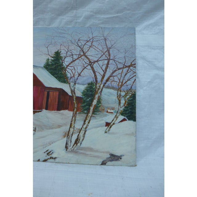 The Old Red Barn Painting by H.L. Musgrave - Image 5 of 6