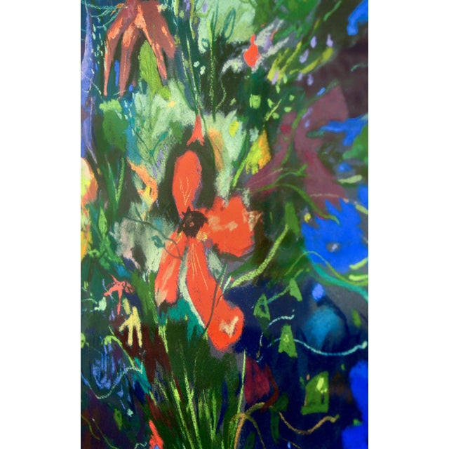 Bouquet Framed Pastel Painting by Leon Kelly - Image 7 of 8