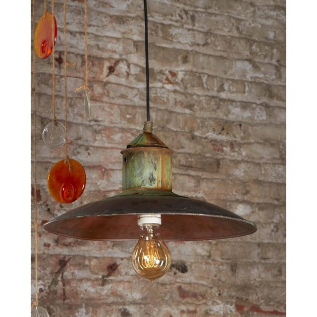 Danish Copper Pendant Lamp - Image 2 of 6