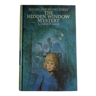 1970s Nancy Drew Hidden Window Mystery Book, Keene