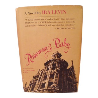 Ira Levin Rosemary's Baby First Edition Book, 1967