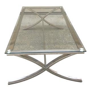 Three Hands Corporation Glass Coffee Table