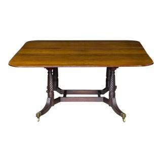 Classical Mahogany Cumberland Table