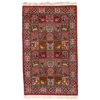"""Pasargad Hand Knotted Persian Rug - 4'4"""" X 7'"""