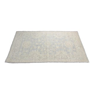 "Bellwether Rug Pastel Colored Turkish Oushak Rug - 2'9"" x 4'"