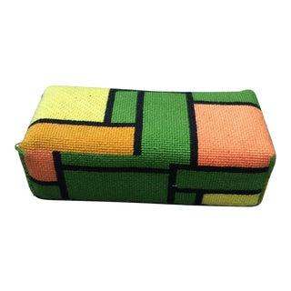 Mondrian Style Color Block Doorstop