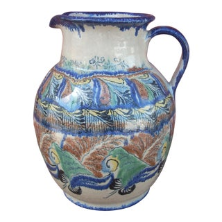 Mexican Pottery Pitcher