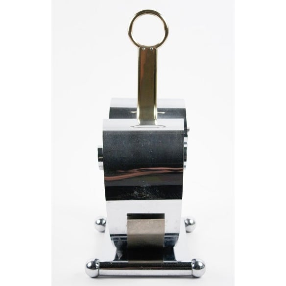 Fred Farr for Revere Modern Chrome Magazine Holder - Image 3 of 8