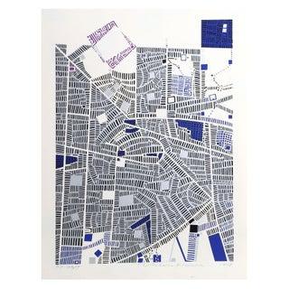 Risaburo Kimura - City 89 Silkscreen