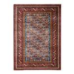 """Image of New Traditional Hand Knotted Area Rug - 4'4"""" x 5'10"""""""