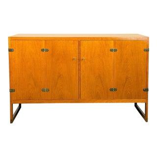 Mahogany Cabinet by Børge Mogensen Model BM 57, Denmark, 1957