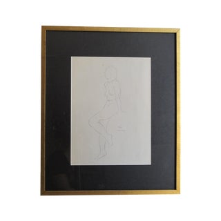 Seated Nude Sketch