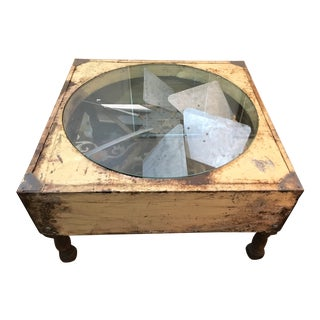 Industrial Style Factory Fan Coffee Table