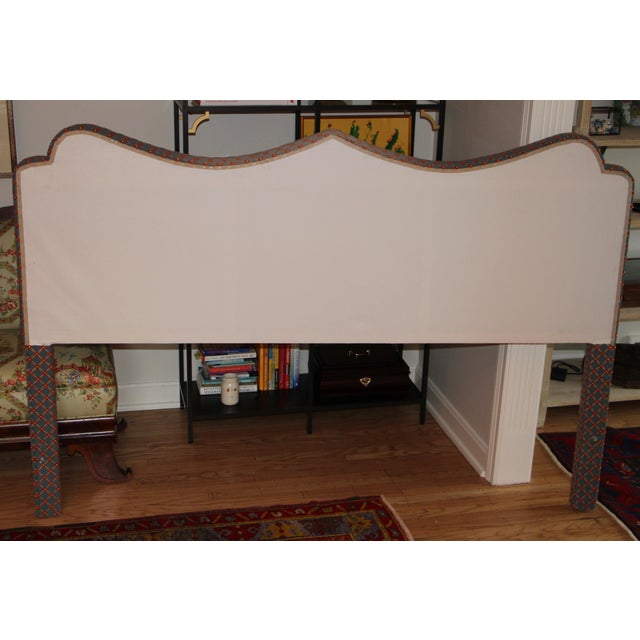 Custom Brunschwig & Fils Headboard - Image 7 of 9