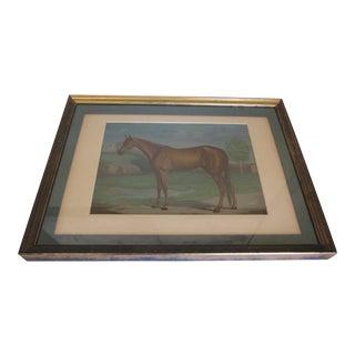 "1881 Vintage Horse ""Maud S."" Signed Print"