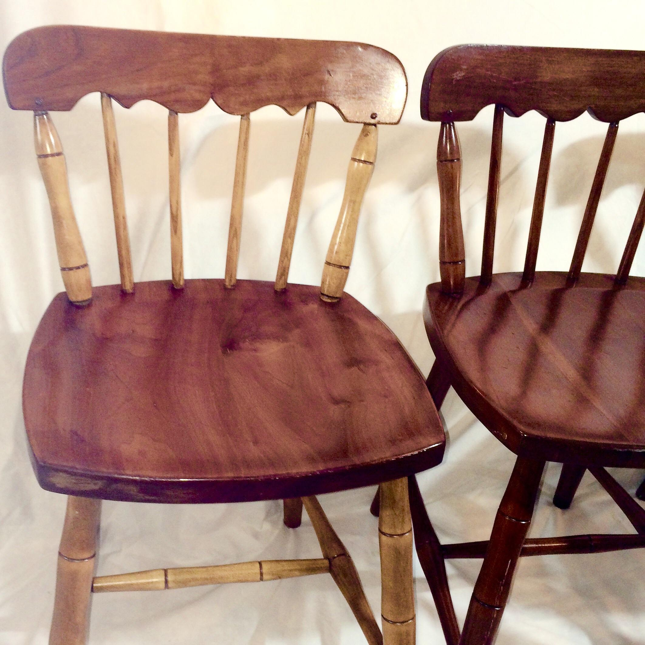 Cherry Valley Stickley Chairs Set Of 3 Chairish