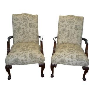 Parker Southern Furniture Armchairs - A Pair