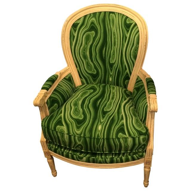 Green Accent Chair Chairish