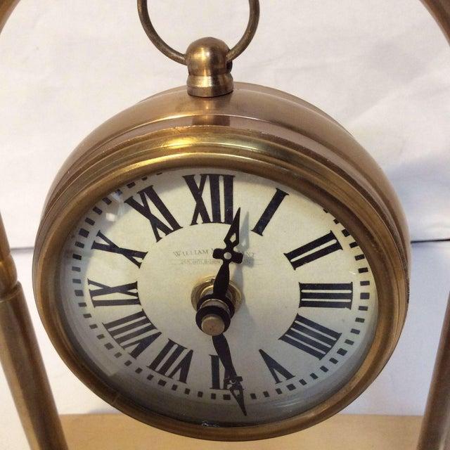 Hanging Brass Pocket Watch | Chairish
