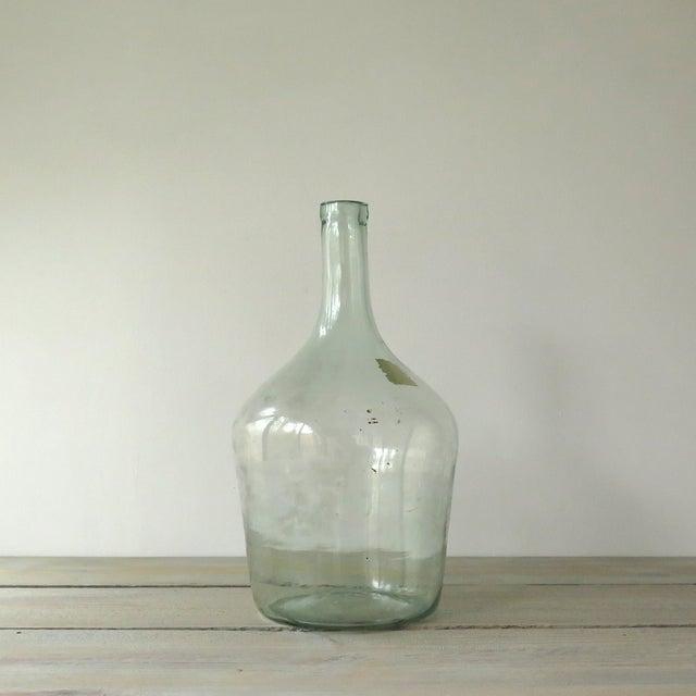 Vintage Green Glass Demijohn Bottle - Image 3 of 9