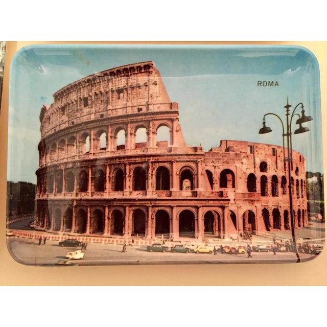 Vintage Mebel Melamine Italian Souvenir Tip Trays - Set of 5 - Image 7 of 11