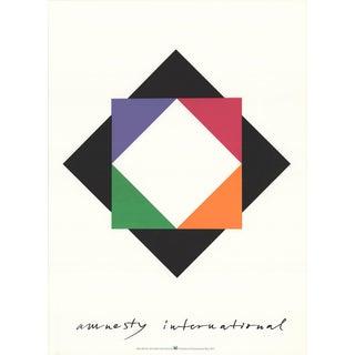 Max Bill-Amnesty International-1976 Serigraph
