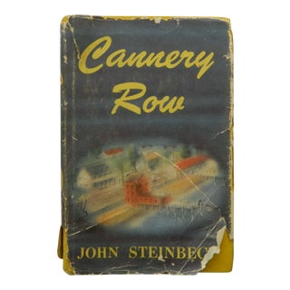 Cannery Row by John Steinbeck, Fourth Printing 1945