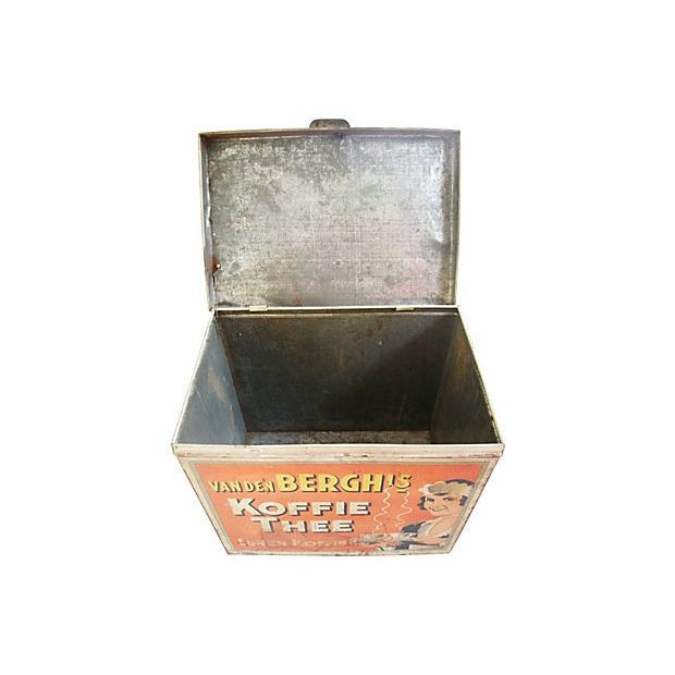 Large 1930s Van Den Berghs Koffie Coffee Tin Box - Image 5 of 7