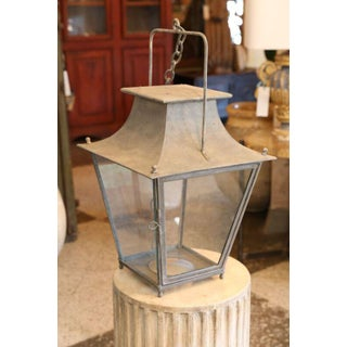 Painted French Lantern