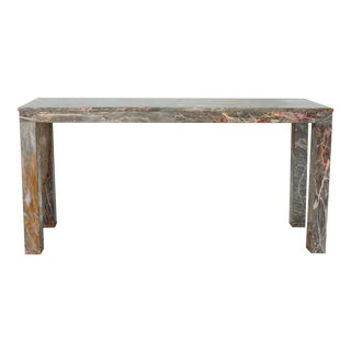 20th Century Marble Parson's Table/Console