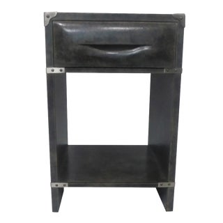 Side End Table With Drawers