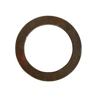 """Vintage Bronze Letter """"O"""""""