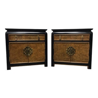 CENTURY CHIN HUA by Raymond K Sobota Nighstands / Bedside Chests - Pair