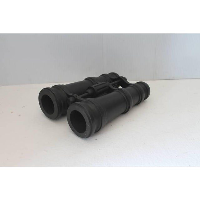 Monumental Original Painted Wood Binoculars Trade Sign - Image 4 of 8