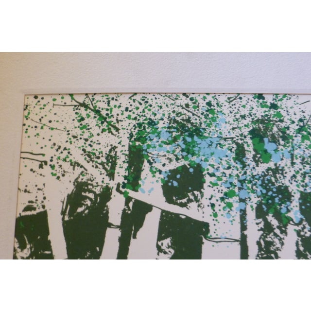 "Image of ""Spring Two"" Modernist Print by Calvin Libby"