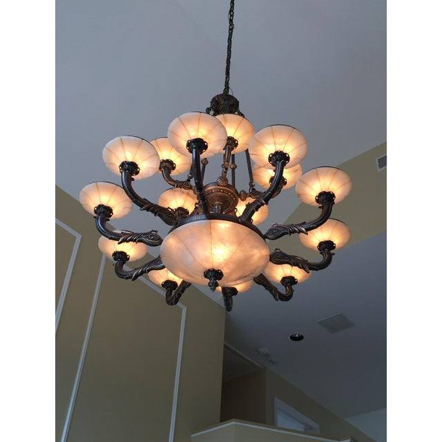 Turin Family Bowl Chandelier - Image 2 of 5