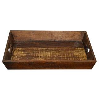 Reclaimed Wood Farmhouse Tray