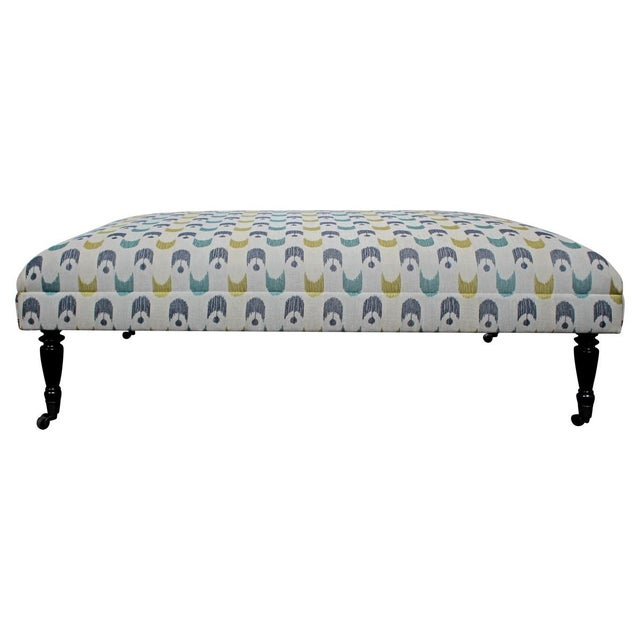 Image of Large Contemporary Landon Ottoman
