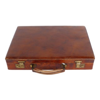 Italian Briefcase Made for a Bank