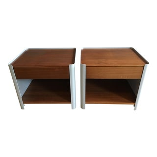 Luciano Bertoncini for DWR Bed Side Tables - A Pair