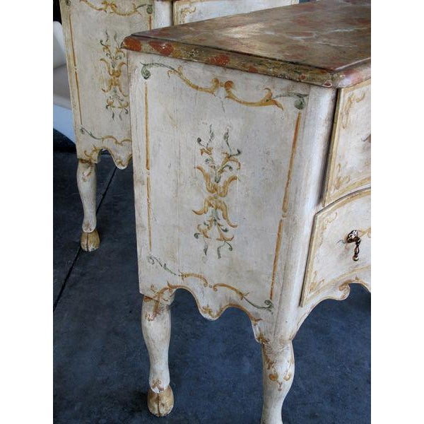 A Curvaceous Pair of Portuguese Rococo Style 2-Drawer Commodes - Image 3 of 6