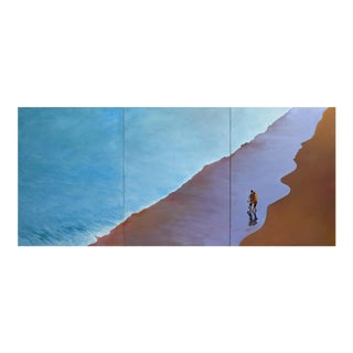 """Summer Backwash"" Triptych (Large)"