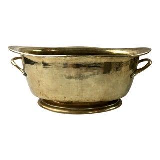 Handmade Brass Habdled Jardiniere