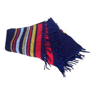 Vintage Faribo Wool Blanket Throw