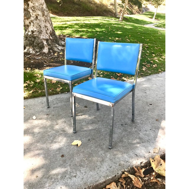 Mid-Century Modern Rare InterRoyal Steelcase Chairs - A Pair - Image 2 of 4