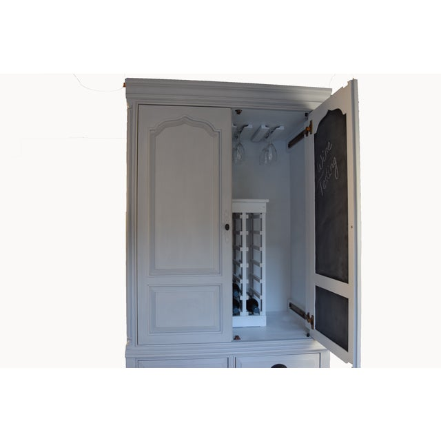 Traditional Home Bar Cabinet - Image 10 of 11